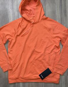 "Lululemon City Sweat Pullover Hoodie XL ""Warm Coral"""