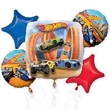 Hot Wheels Wild Racer Foil Balloon Bouquet Birthday Decoration Party Supplies ~5