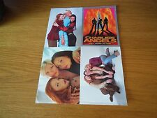 Charlie's Angels postcards x 4