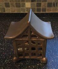 Japanese Pagoda Sachet Fragrance Diffuser Matte Metallic Bronze Ceramic by Gc