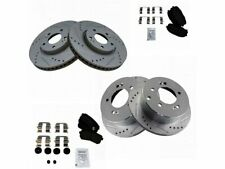 For 2010-2013 Kia Forte Brake Pad and Rotor Kit Front and Rear 69224PN 2011 2012