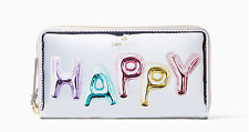 Kate Spade HAPPY LACEY Zip Around Clutch Wallet