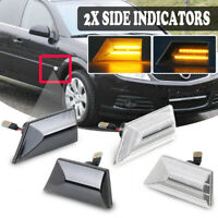 Paar LED Seitenblinker Blinker für Opel Vauxhall Vectra C Signum 93192382 Neu