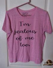 "FREEZE Pink S/S Tee ""I'm Jealous Of Me Too! - XL 15/17 Jrs"