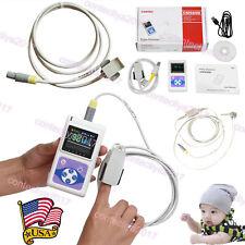 Contec Cms60d Handheld Pulse Oximeteradultpaediatric Amp Neonatal 3 Probespc Sw