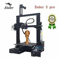 Creality 3D Impresora Ender 3 Pro Version nueva, con superficie magnética Build & Ul