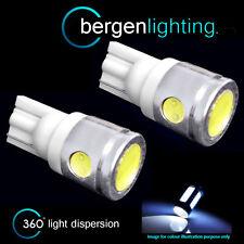 2X W5W T10 501 XENON WHITE 3 LED SMD LUCE DI CORTESIA INTERNA LAMPADINE HID