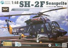 Kitty Hawk  1/48 SH-2F Seasprite Helicopter #80122