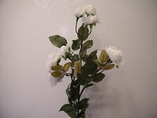 WHITE TEA ROSE FLOWERS SPRAY