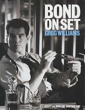 Bond on Set, Greg Williams, Very Good Book