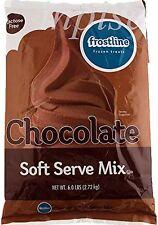 Frostline Chocolate Soft Serve Ice Cream Mix (Large 6 Pound Bag)