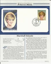 Marshall Islands Princess Diana Memorial First Day Cover (0705)