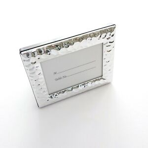 """Photo Frame Place Card Holder Artisano Designs Mini Silver, 4""""x3"""" Outer Size"""