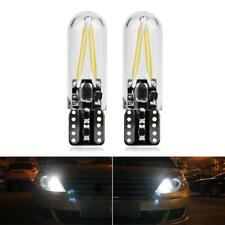 T10 W5W High Power COB LED CANBUS Glass License Plate Light Bulbs12V White-Gifts