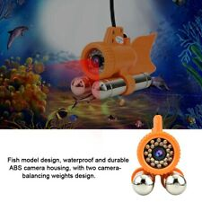 30m Cavo 12 LED 1000TVL Telecamera subacquea per la pesca Fish Finder portatile