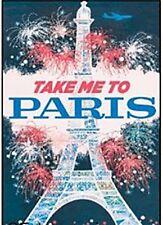 Take Me To Paris fridge magnet (ep)