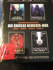 Nemesis 1-4 Movie Box Set (Blu-Ray Region Free) Classic Cult Collection NEW