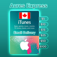 Apple iTunes Gift Card Canada $5 $10 $15 $25 $50 $100 ✅ Fast Delivery ✅