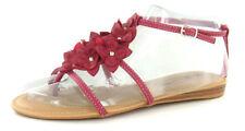 Sandali e scarpe casual rosa Spot On per il mare da donna