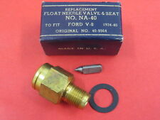 NOS 1934-38 Ford stromberg 81 48 97 needle and seat inlet flathead     40-9564