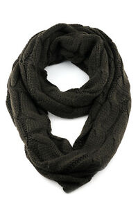 NEW! CC Scarf Soft Chunky Warm Pullover Knit Long Loop Infinity Hood Cowl Scarf