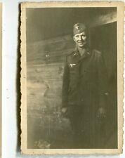 Orig. Foto LANDSBERG /WARTHE /GORZÓW Deutscher Soldat der Lutfwaffe um 1940