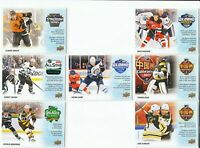 2019-20 Upper Deck Tim Hortons COMPLETE KEY SEASONS EVENTS SET  7 CARDS