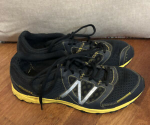 Mens New Balance 310 Sneakers Running Shoes Size 11.5 Black/Yellow MT310BY