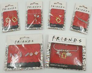 Friends TV Show Jewellery Job Lot x6 Items - Bracelet - Earrings - Necklaces