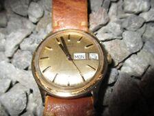 TIMEX Vintage Automatic Day Date rund 35 mm 60er Jahre 1960s