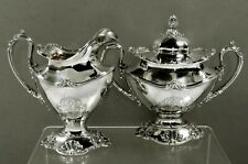 Reed & Barton Sterling Tea Set                    c1920 MARTELE