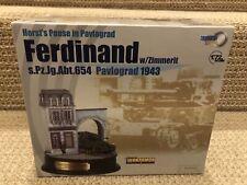 Dragon Armor/DiorArmor 1:72 Ferdinand, sPzJgAbt. 654, Pavlograd 1943, No. 60202