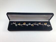 Watch Bracelet Gift Organizer Jewelry Box Display Storage Black Christmas
