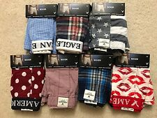7 Pairs of Men New American Eagle Boxers, Size XS
