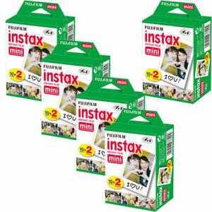 100 Prints Fujifilm instax Mini Instant Film for Fuji 8 9 11 90 7s & Pol 300
