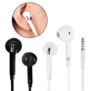 3.5mm In-Ear Headset Earphone Handsfree Headphone+Mic For Samsung Galaxy S10 9 8