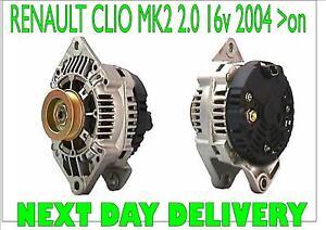 For RENAULT CLIO MK2 2.0 16v Sport 2004 2005 2006 2007 2008 > ALTERNATOR