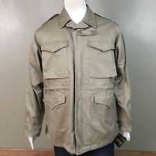 ALPHA INDUSTRIES M-43 Field Coat Jacket Wool Liner Sz L KHAKI NWT WWII Military