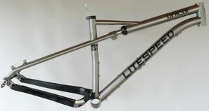 Litespeed Unicoi MTB 29er Softtail Titan Rahmen