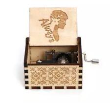 Harry Potter Always Music Box Hand Crank Wood Engraved With Bonus Wood Keychain