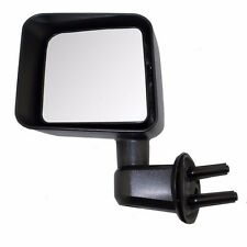 Jeep Wrangler JK 2007-2016 Manual Door Mirror - Driver Side LH