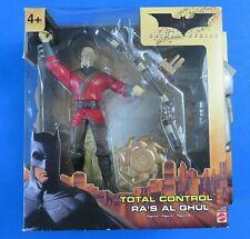 Total Control Batman Begins Ra'S Al Ghul Figure ~ New