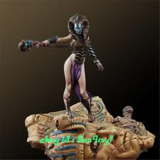 1/32 Figura de reina de Egipto sin pintar, incluso kits modelo de resina de base GK sin montar