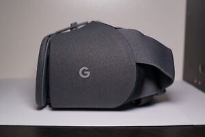 Google Daydream View VR Headset - 2nd Generation - Charcoal Gray UNUSED