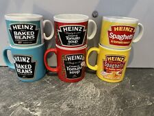 More details for 3 large heinz mugs tom spaggetti beans 3 small same