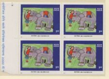 Elephants Indian Stamps