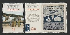 Australia 2019 First England to Australia Flight 1919 Design Set MNH