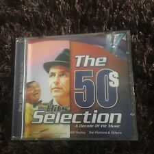 THE 50S HITS SELECTION CD. A DECADE OF HIT MUSIC CD. 20 SONGS