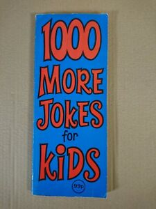 1000 More Jokes for Kids Paperback Book