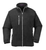 Portwest Men City Fleece Black/Grey/Navy/Red Multi Size F401
